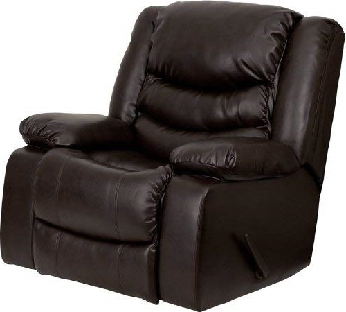 Flash Furniture Plush Brown rocker recliners