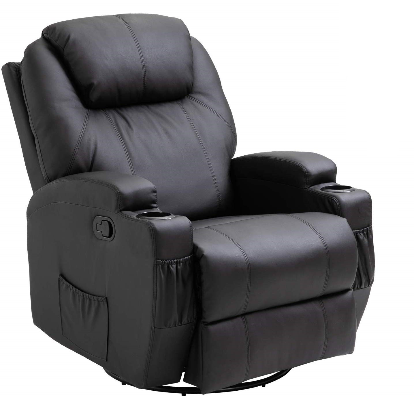 HomCom Massage and Heating recliner