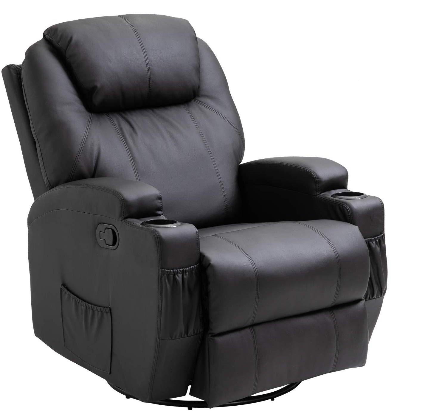 HomCom Massage and Heating recliner