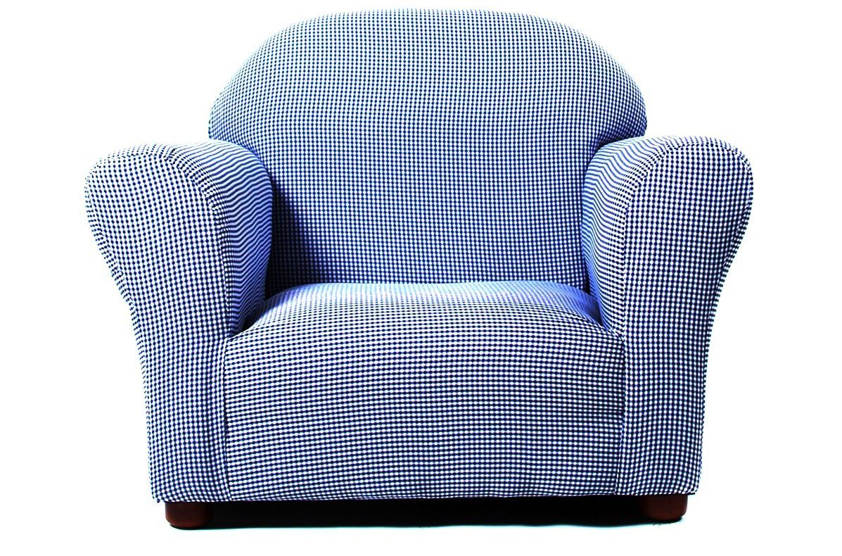 KEET Roundy Rocking Kid's Chair Gingham