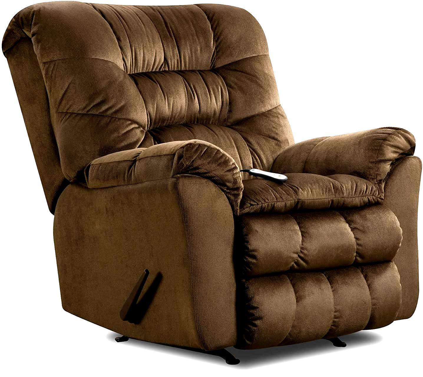 Simmons Upholstery Umber Rocker Recliner